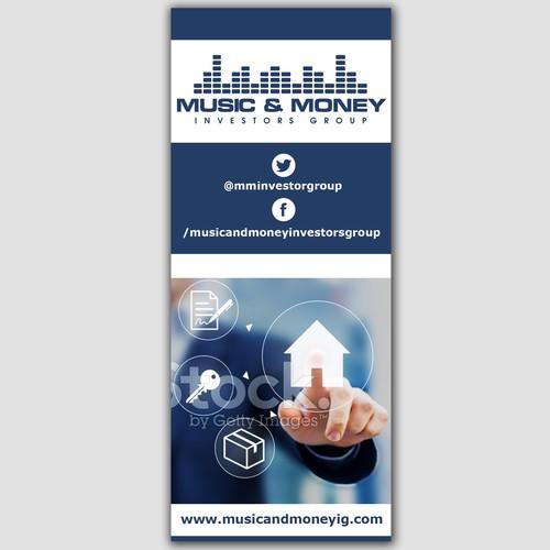 Music & Money sign design