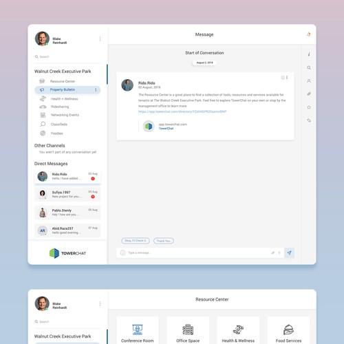 Web App UX redesign