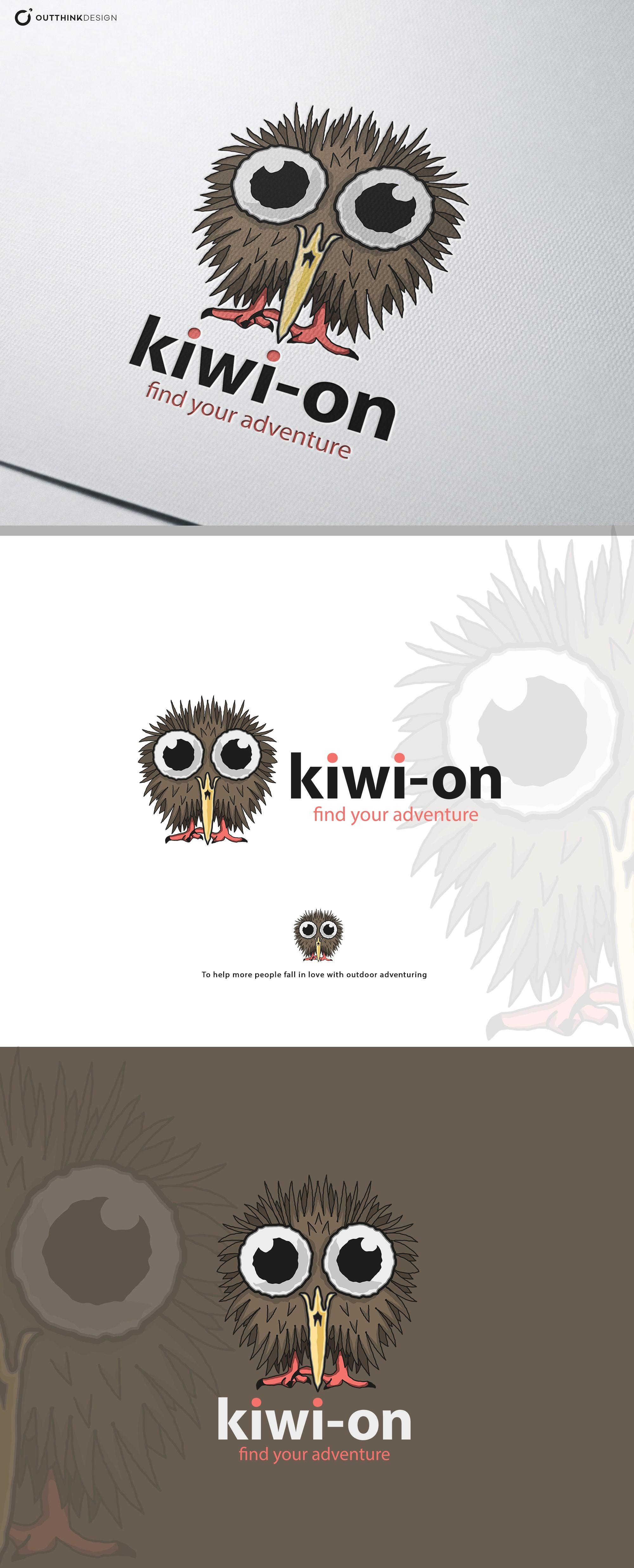 Logo for outdoor adventure brand - kiwisutra