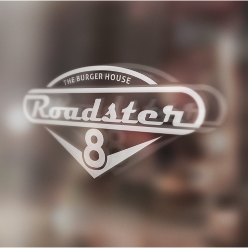 Create a Fantastic Logo For 'V8 Roadster The Burger House'