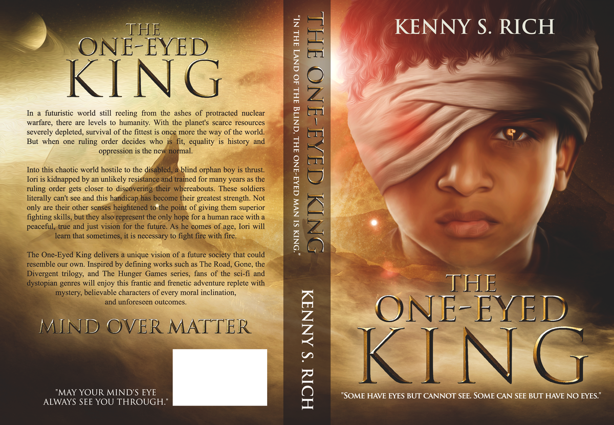 The One-Eyed King - (Book Cover: Gold Edition)