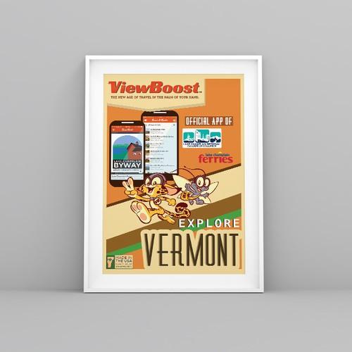 ViewBoost Poster Design