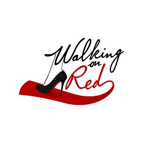 Logo for Walking on Red