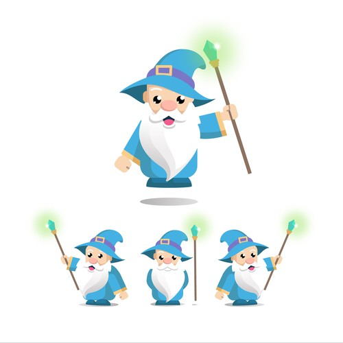 wizard character design