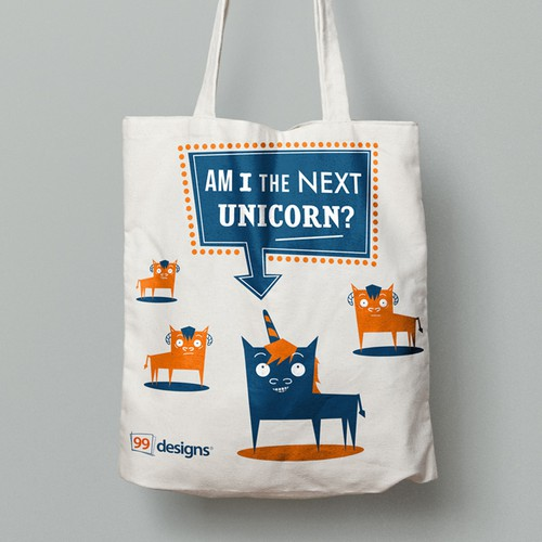 99 design tote bag