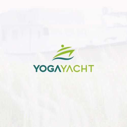 Logo for a Yoga studio in Dubai