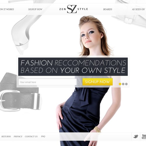 StyleZen - High Performance Landing Page Needed