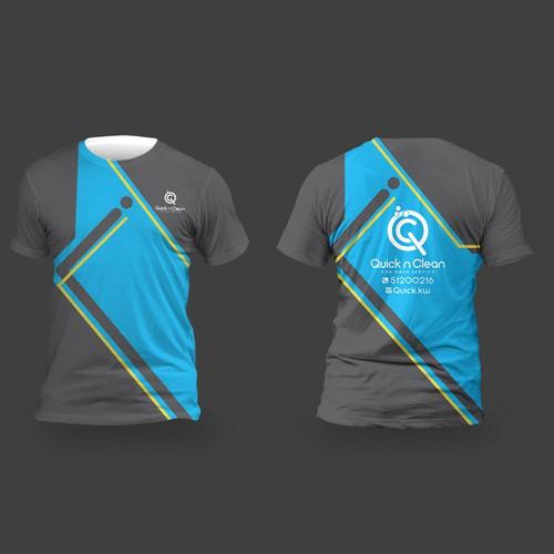 Car wash company t-shirt design
