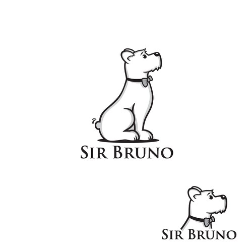"Logo for healthy dog food ""Sir Bruno"""