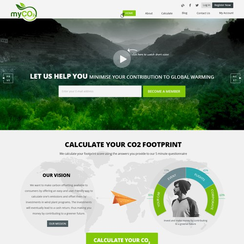 Home page Myco2 Contest