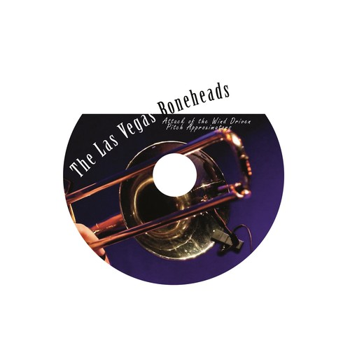 CD design for Jazz Band
