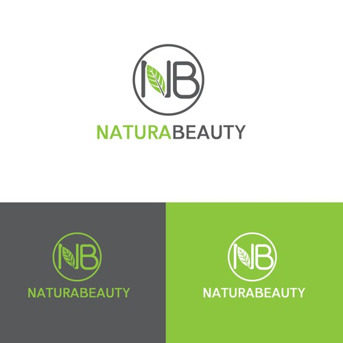 NaturaBeauty logo design