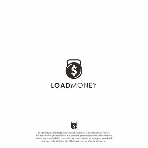 load money logo concept