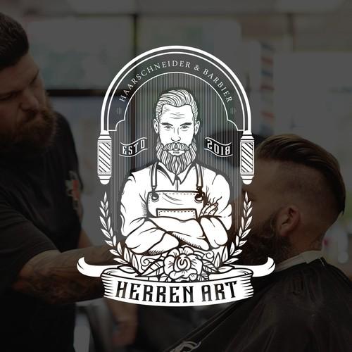 Logo für Haarschneider & Barbier gesucht