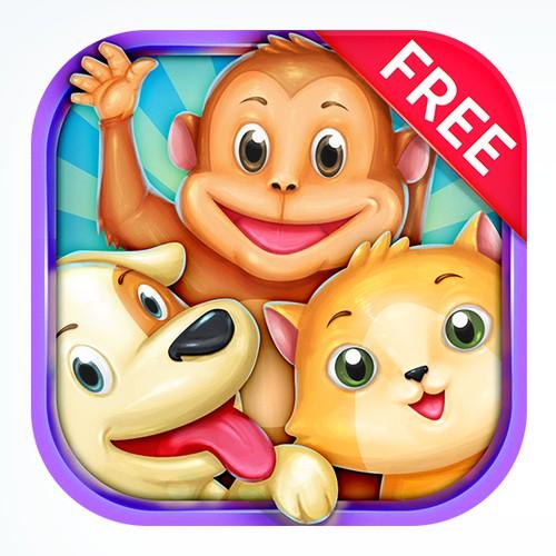 HD Animals iOS App icon