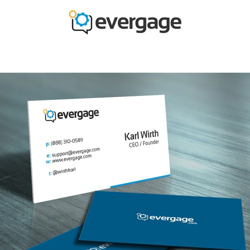 BOLD logo design for evergage