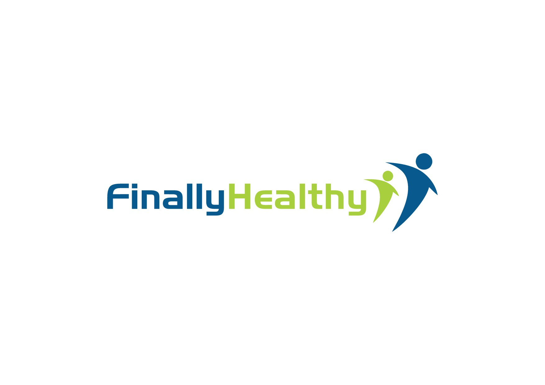 """Imagine you're """"Finally Healthy,"""" after trying for so long. Capture that feeling for our logo"""