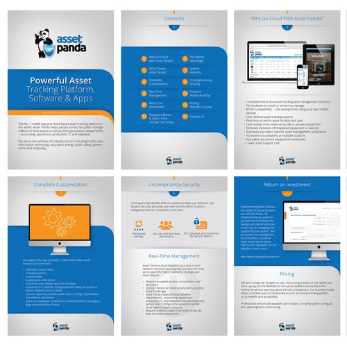Asset Panda Technology Brochure