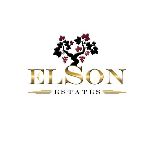 Traditional Australian Winery - logo to be used internationally