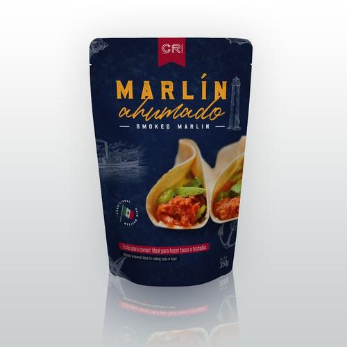 Smoked Marlin Packaging