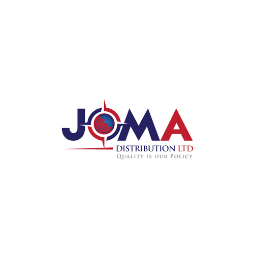 Create a Logo for JOMA Distribution Ltd !!!!!! Good Luck