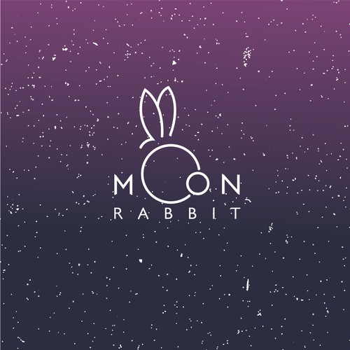 A Moon and a rabbit