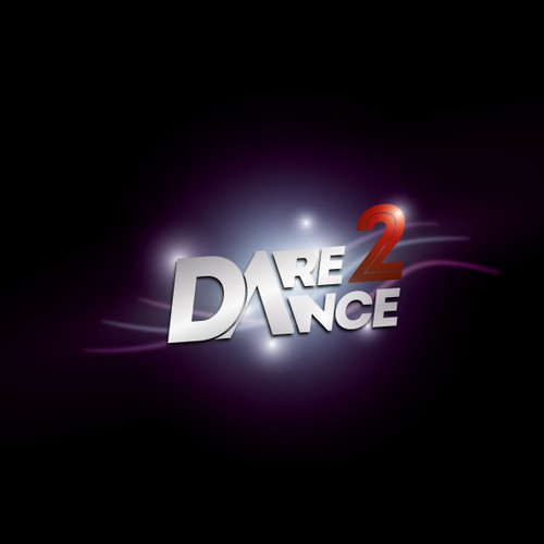 Dare 2 Dance Competition Logo Design