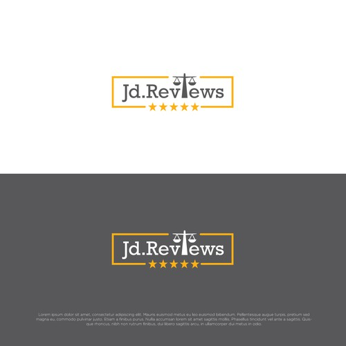 Logo concept for Jd.Reviews