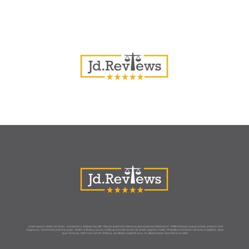 Logo concept for Jd.Reviews