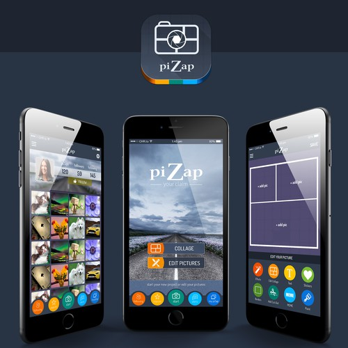 piZap is looking for a new app design for our iOS app and a long term designer!