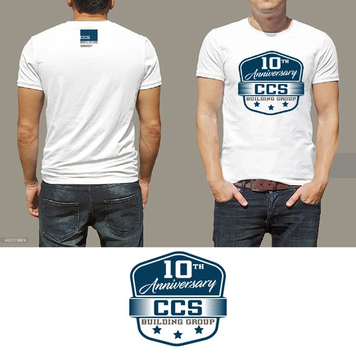 design tshirt ccs building group