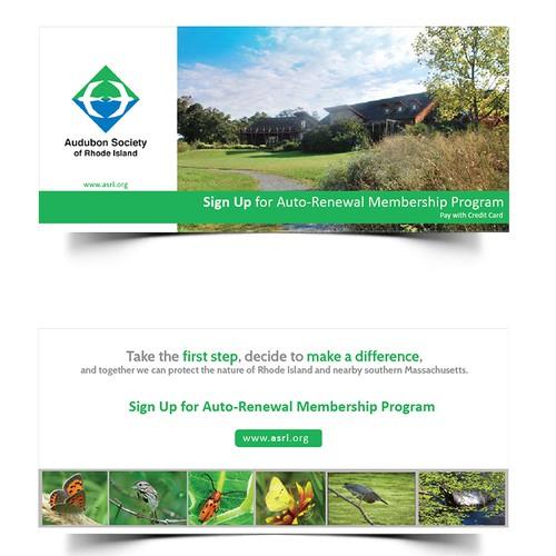 Design for Audubon Society