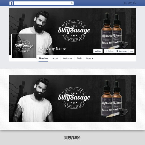 ":: Facebook Cover for ""Stay Savage"""