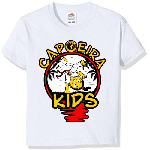 Capoeira martial arts school needs fun kids design!