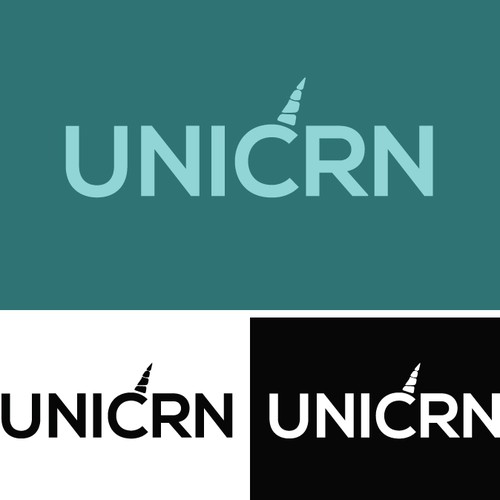 Challenge: Create a profesional logo for a tech company called UNICRN!