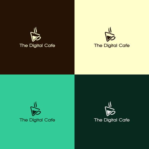 logo concept for The Digital Cafe
