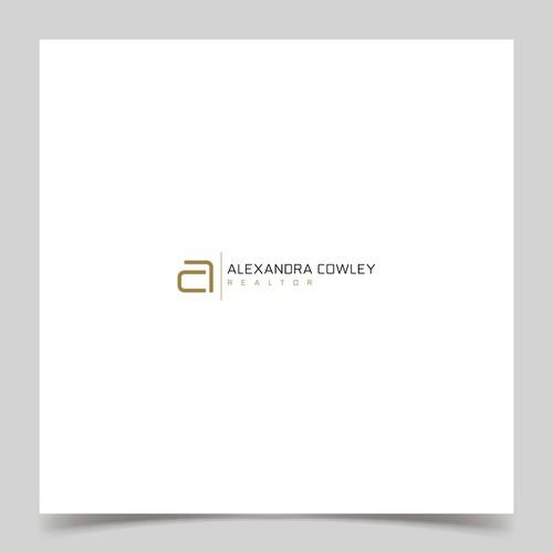 Design a luxurious modern logo for Alexandra Cowley - realtor
