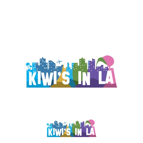 Design a logo that looks similar to the Hollywood sign!