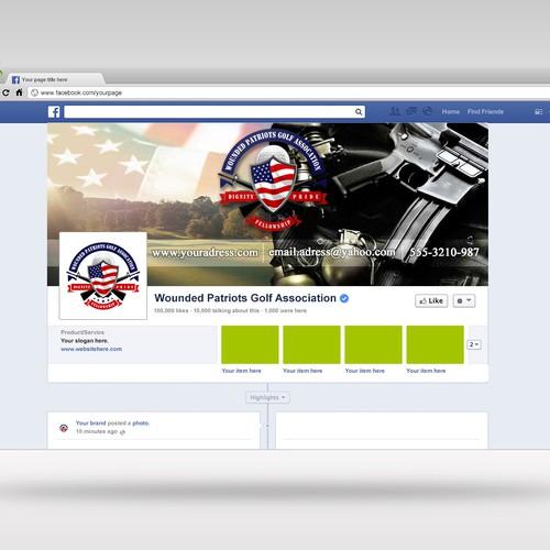 Patriotic facebook cover