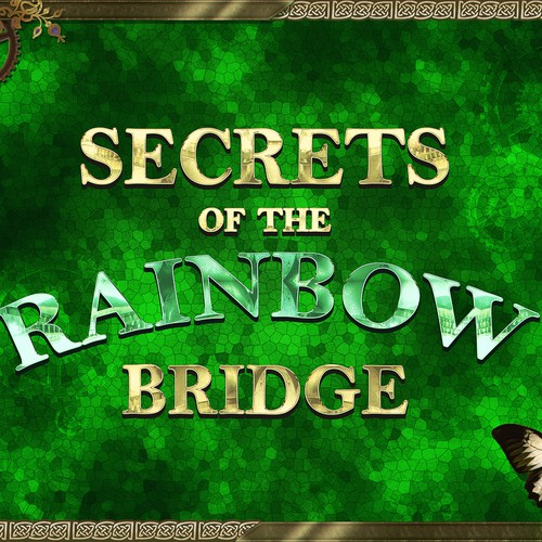 Secrets of the Rainbow Bridge - Fantasy Book Promotional Art