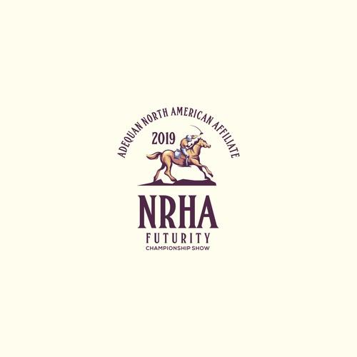 "2019 NRHA Futurity & Adequan North American Affiliate Championship Show (NOTE: ""& Adequan North American Affiliate Championship Show"" can be secondary/smaller wording)"
