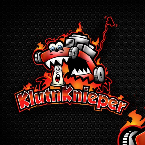 Playful Bold logo for KluntnKnieper