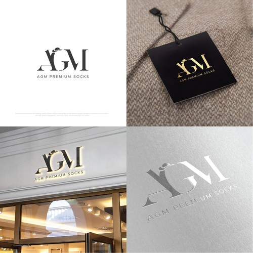 Mimimalistic Logo Design für High Class Fashion
