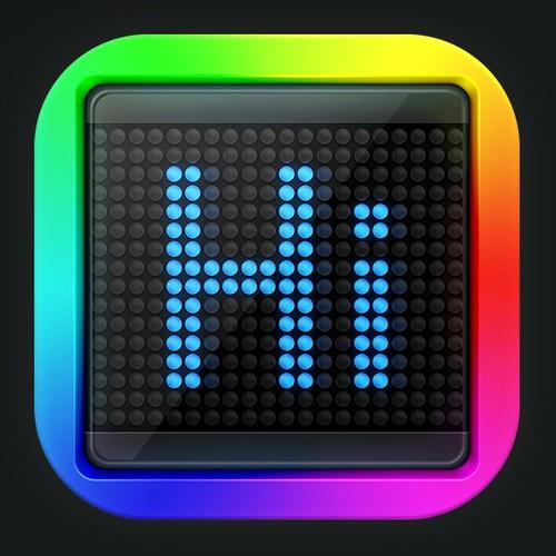 LED iOS App Icon