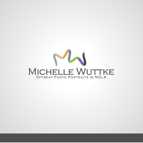 from a logo contest for Michelle Wuttke