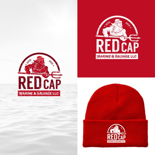 Iconic logo for Redcap Marine.