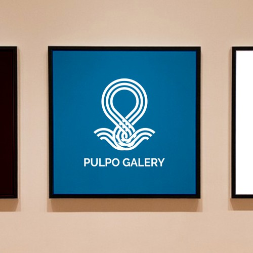 Logo for an Art Galery - Pulpo