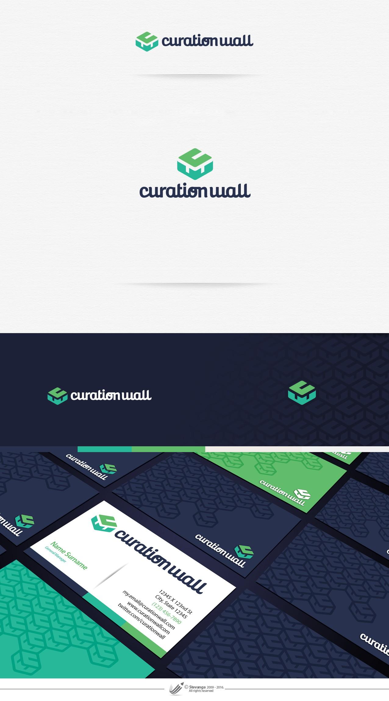 Striking logo & Business Card For Tech Social Media Start-up
