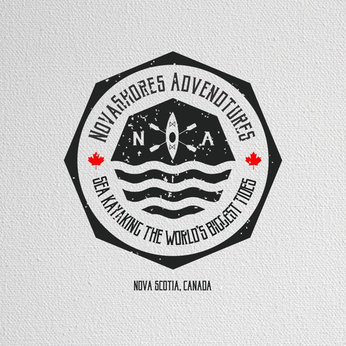 Vintage logo for Novashores Adventure