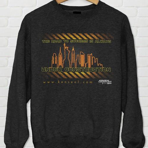 Tshirt design for a construction company